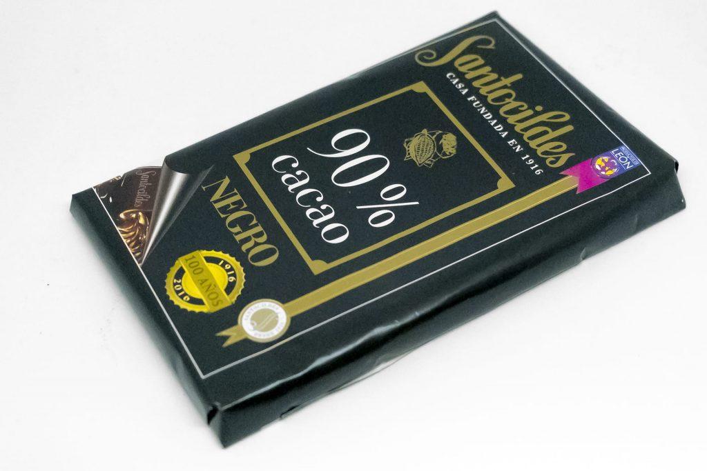 Chocolate Santocildes 90% Cacao