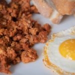 Picadillo de Chorizo de León con Huevo