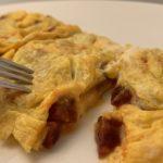 Tortilla de chorizo de León