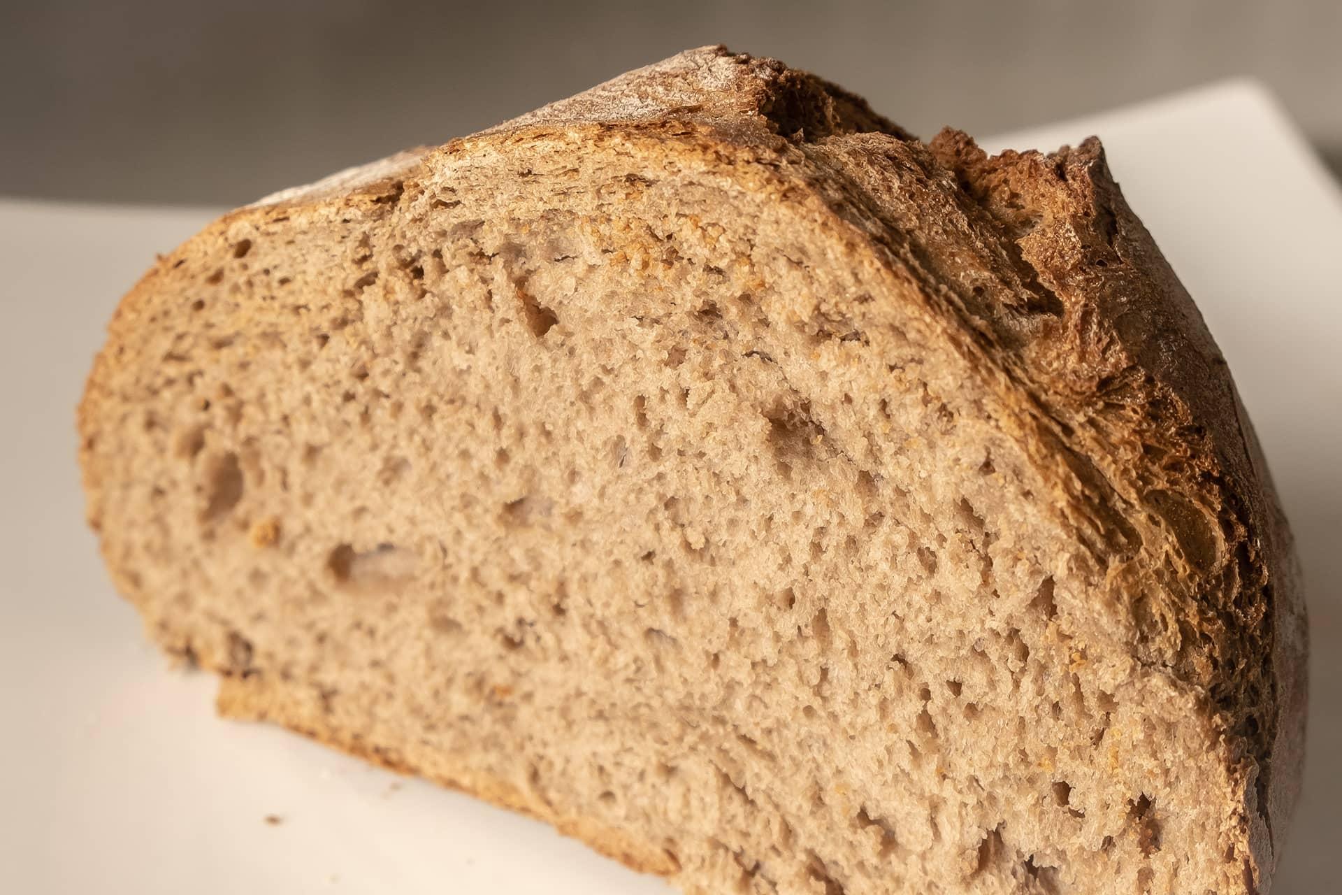 Pan de trigo y centeno de Banuncias