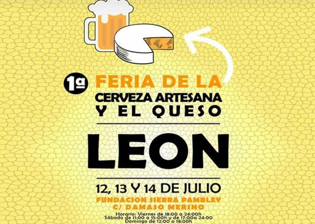 1ª Feria de la Cerveza Artesana y el Queso de León