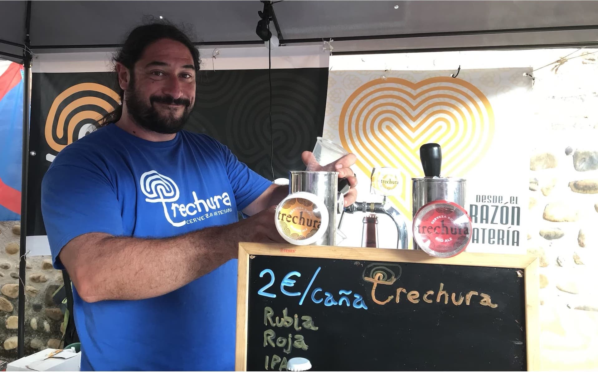 Alvaro de la cervecería Trechura
