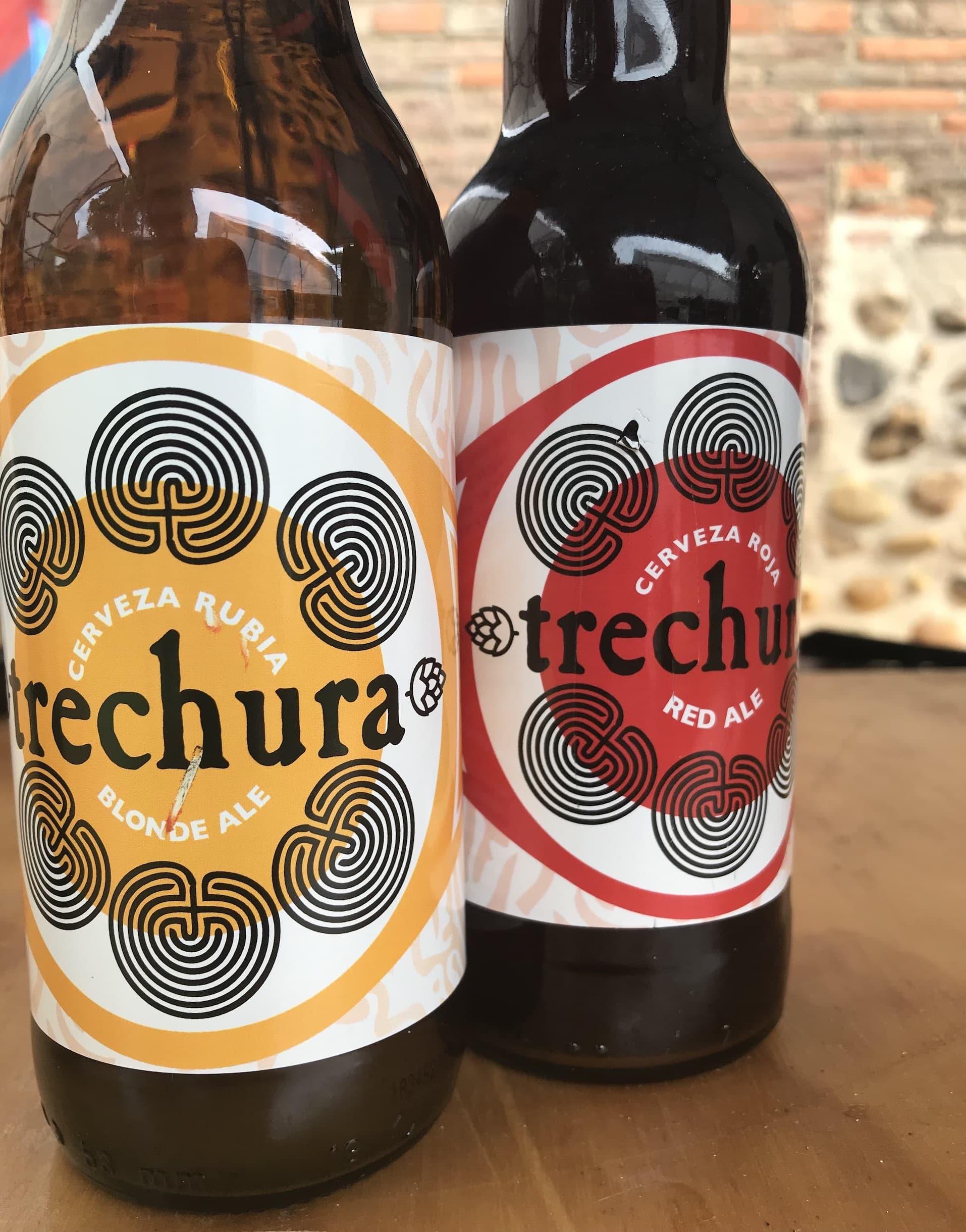 Cerveza artesana Trechura