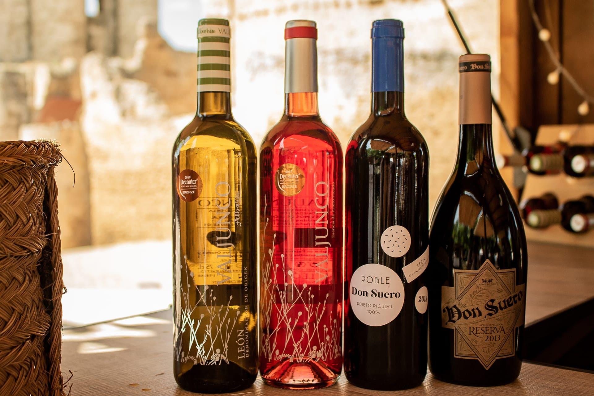 Valjundo y Don Suero de Bodegas Vinos de León