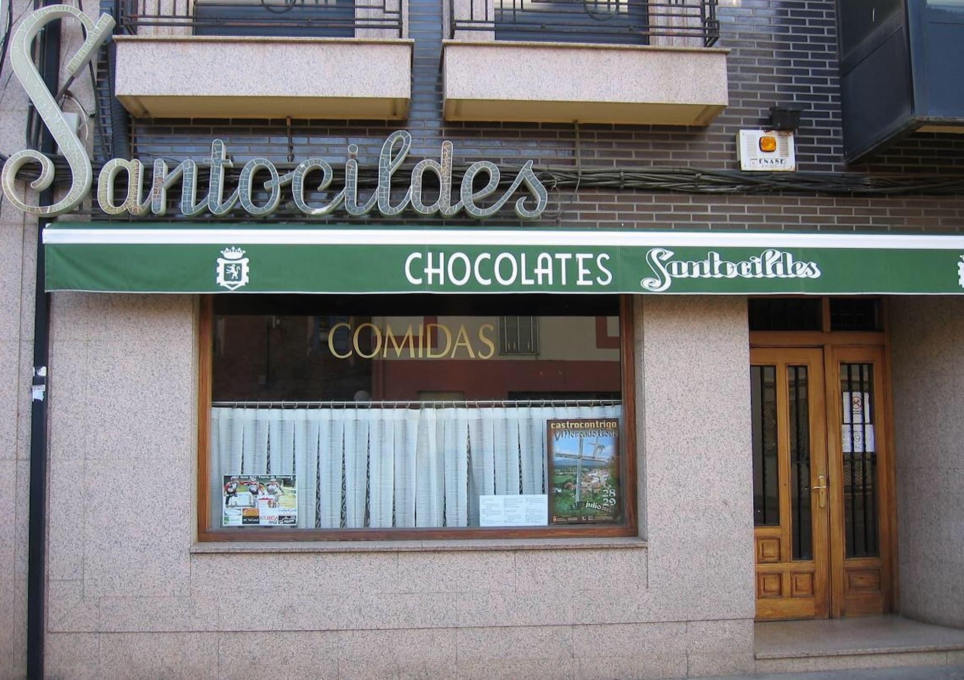 Tienda de Chocolates Santocildes en Castrocontrigo