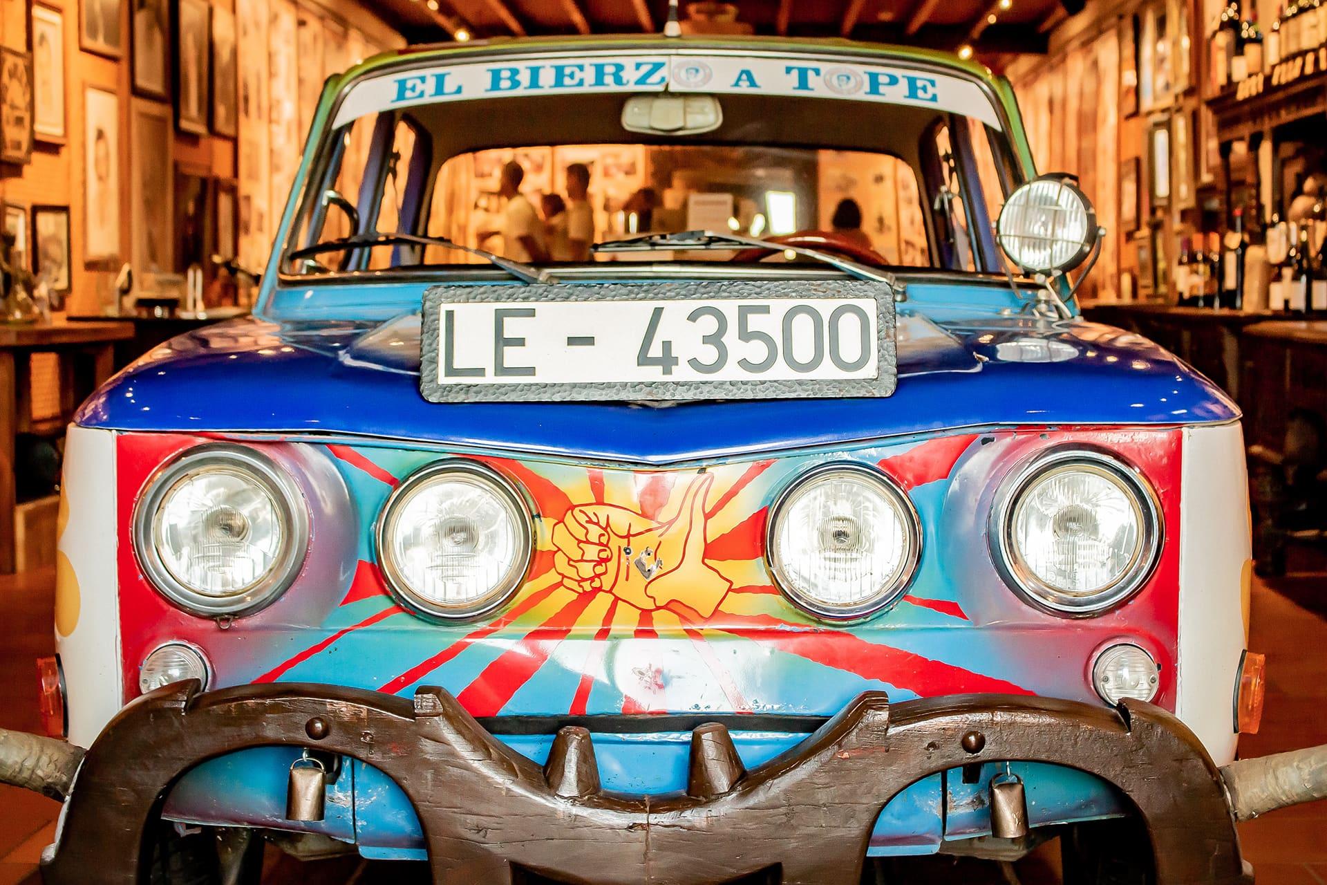 El coche con el Prada viajó a Londres