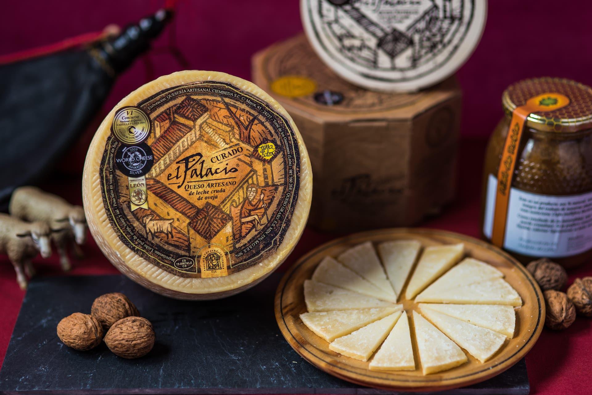 Tabla de queso el Palacio Curado