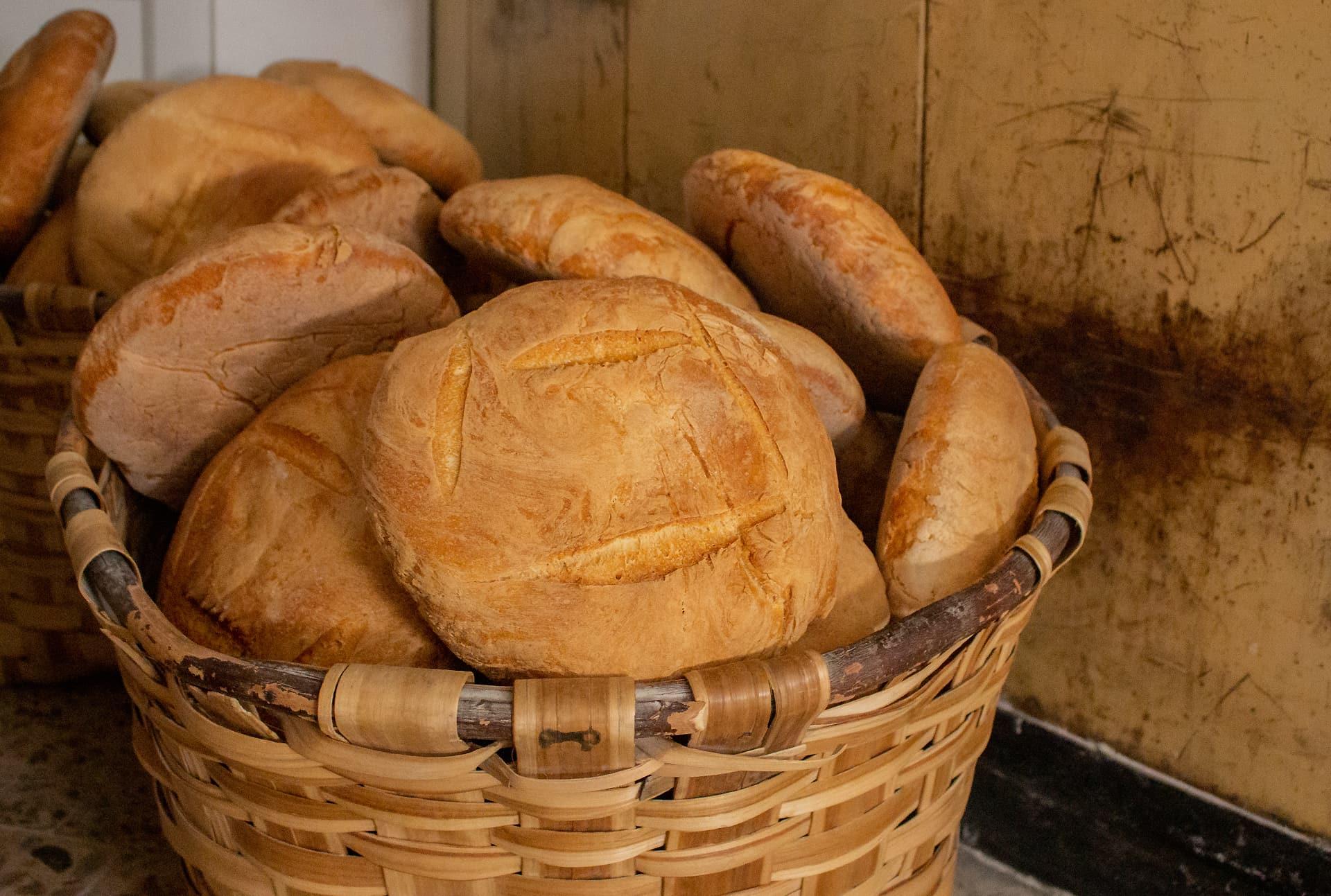 Pan de León Panadería Villabente hogazas