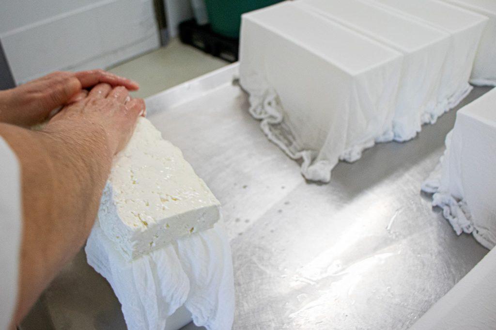 preparación queso pata de mulo
